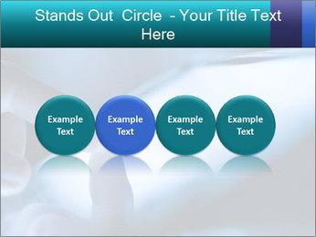 Closeup of finger PowerPoint Templates - Slide 76