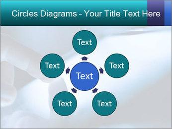 Closeup of finger PowerPoint Templates - Slide 78