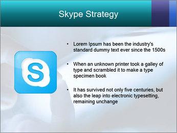 Closeup of finger PowerPoint Templates - Slide 8