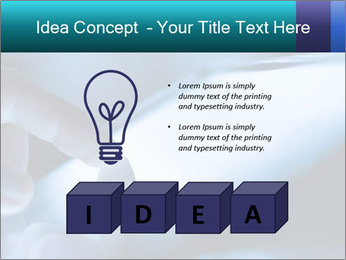 Closeup of finger PowerPoint Templates - Slide 80