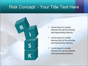 Closeup of finger PowerPoint Templates - Slide 81