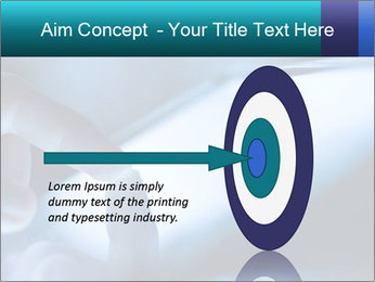 Closeup of finger PowerPoint Templates - Slide 83