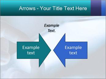 Closeup of finger PowerPoint Templates - Slide 90