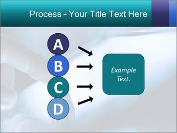 Closeup of finger PowerPoint Templates - Slide 94