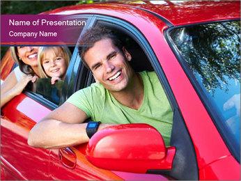 Happy smiling family Modèles des présentations  PowerPoint