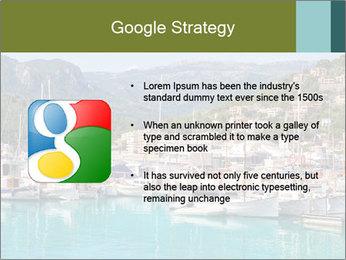 Port de Soller view PowerPoint Template - Slide 10