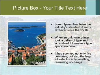 Port de Soller view PowerPoint Template - Slide 13