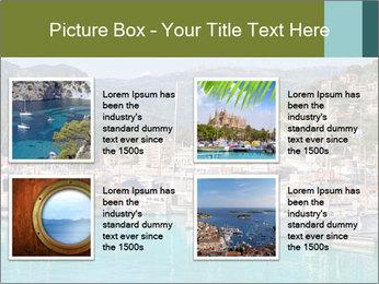 Port de Soller view PowerPoint Template - Slide 14