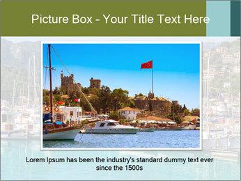 Port de Soller view PowerPoint Template - Slide 15