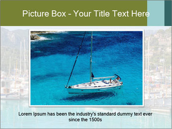 Port de Soller view PowerPoint Template - Slide 16