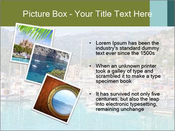 Port de Soller view PowerPoint Template - Slide 17