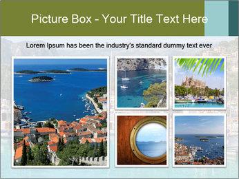 Port de Soller view PowerPoint Template - Slide 19