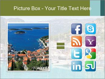 Port de Soller view PowerPoint Template - Slide 21