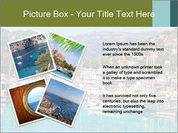 Port de Soller view PowerPoint Template - Slide 23