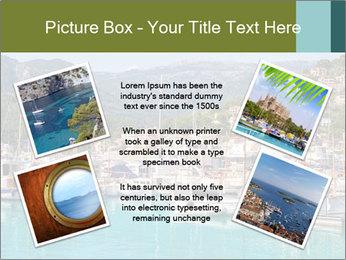 Port de Soller view PowerPoint Template - Slide 24