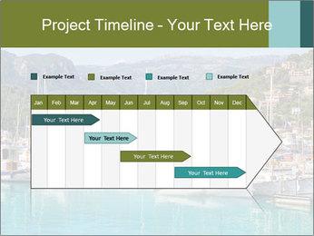 Port de Soller view PowerPoint Template - Slide 25