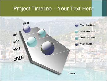 Port de Soller view PowerPoint Template - Slide 26