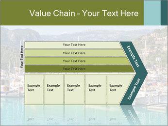 Port de Soller view PowerPoint Template - Slide 27