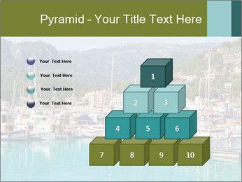 Port de Soller view PowerPoint Template - Slide 31