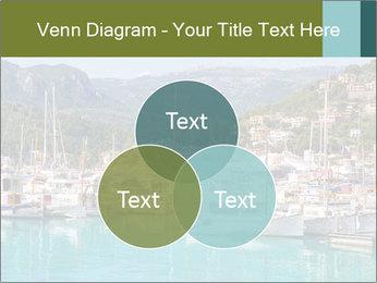 Port de Soller view PowerPoint Template - Slide 33
