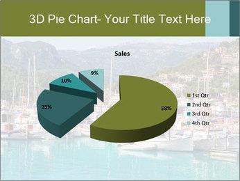 Port de Soller view PowerPoint Template - Slide 35