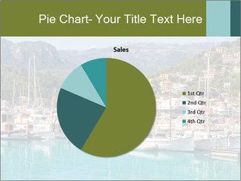 Port de Soller view PowerPoint Template - Slide 36