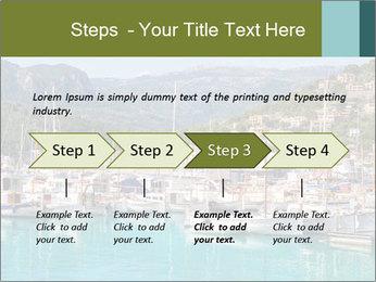 Port de Soller view PowerPoint Template - Slide 4