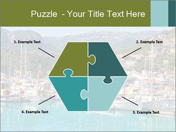 Port de Soller view PowerPoint Template - Slide 40