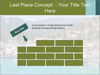 Port de Soller view PowerPoint Template - Slide 46