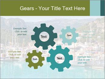 Port de Soller view PowerPoint Template - Slide 47