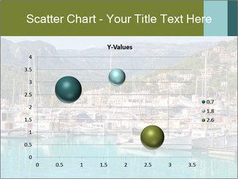 Port de Soller view PowerPoint Template - Slide 49
