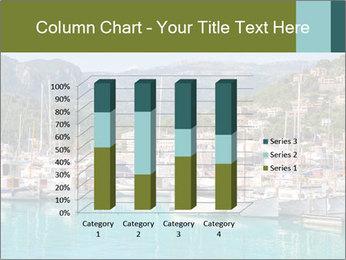 Port de Soller view PowerPoint Template - Slide 50
