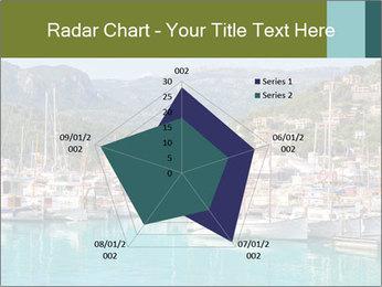 Port de Soller view PowerPoint Template - Slide 51