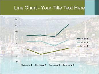 Port de Soller view PowerPoint Template - Slide 54