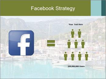 Port de Soller view PowerPoint Template - Slide 7