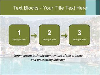Port de Soller view PowerPoint Template - Slide 71