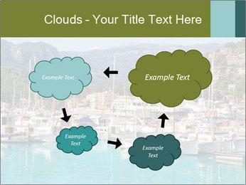 Port de Soller view PowerPoint Template - Slide 72