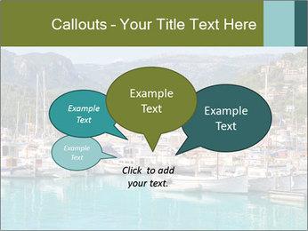 Port de Soller view PowerPoint Template - Slide 73