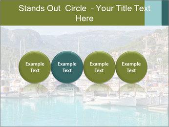 Port de Soller view PowerPoint Template - Slide 76