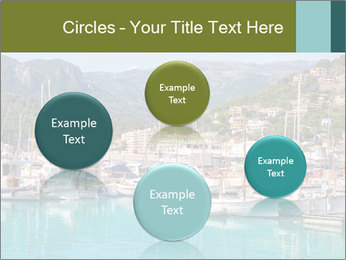 Port de Soller view PowerPoint Template - Slide 77