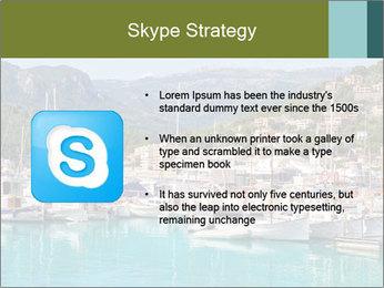 Port de Soller view PowerPoint Template - Slide 8