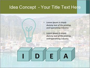 Port de Soller view PowerPoint Template - Slide 80