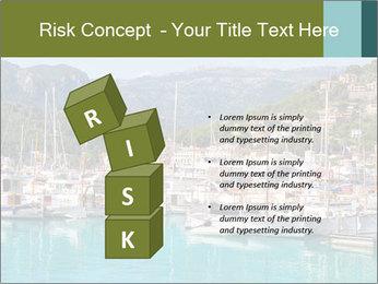 Port de Soller view PowerPoint Template - Slide 81