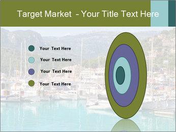 Port de Soller view PowerPoint Template - Slide 84