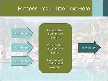 Port de Soller view PowerPoint Template - Slide 85