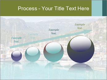 Port de Soller view PowerPoint Template - Slide 87