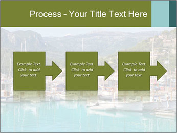 Port de Soller view PowerPoint Template - Slide 88