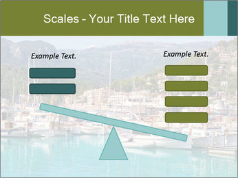 Port de Soller view PowerPoint Template - Slide 89
