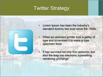Port de Soller view PowerPoint Template - Slide 9