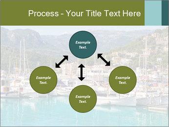 Port de Soller view PowerPoint Template - Slide 91